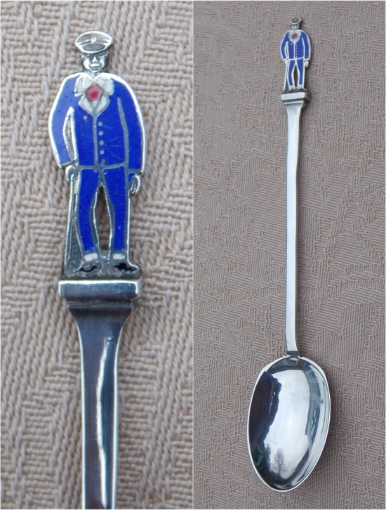 "Silver ""Hospital Blues"" spoon. Courtesy/© Heather Anne Johnson."