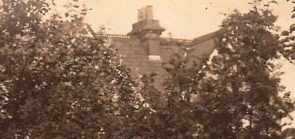 The roof of 'Westward Ho Hotel', Alton Road, Clacton-on-Sea. Courtesy/© of Heather Anne Johnson.